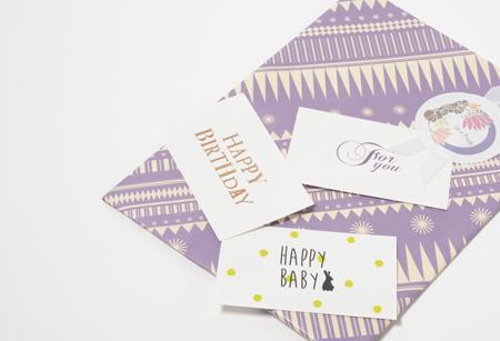 ギフトラッピング プレゼントラッピング ギフトカード 無料 通販