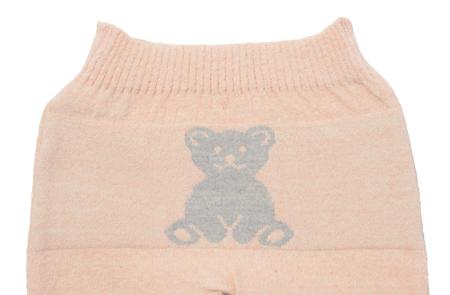 キッズ オーガニックコットン 毛糸のパンツ 通販